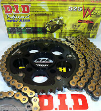 DUCATI 848 EVO  848  '08/13  SUPERSPROX / D.I.D. 525VX CHAIN AND SPROCKETS KIT