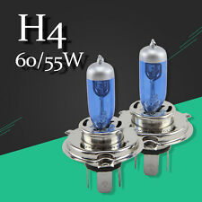 H4 HB2 9003 12v 60/55W white Halogen Lamp Replace Car Trunk Headlight  Lamp 2PCS