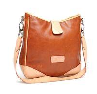 Dooney & Bourke Womens Tan Leather Shoulder Bag 2138
