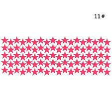 10~90pcs Star Wall Sticker Kids Room Decor Easily Removable Waterproof Sweet CZ8