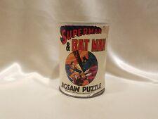 Vinatage 1974 Superman & Batman 200 pc. Jigsaw Puzzle Complete