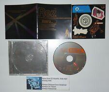 Rez Gamer's Guide To Original Soundtrack Game Music CD