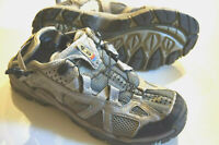 Salomon Contagrip silver blue trail running hiking shoes YYS 643001  womens 9
