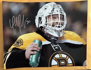 Signed Tim Thomas Boston Bruins 8x10 Photo