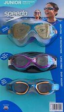 Speedo Swim Goggles junior (Ryan Lochte) UV/P, A/F, L/F - 3 pack 6-14 years old