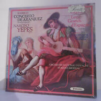 "33T Narciso YEPES Guitare Disque LP 12"" CONCERTO ARANJUEZ GRAND ESPAGNE N°1 Neuf"