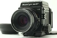 [N Mint +3 w/ Hood] Mamiya RB67 Pro S + Sekor C 90mm Lens Film Camera From JAPAN