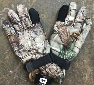 Deerhunter Rusky II Hunting  CAMO Gloves AP SIZE LARGE NEW FREE UK POSTAGE