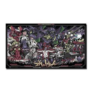 Neon - Genesis Evangelion Ayanami Rei Fighting Anime Art Silk Poster 13x24inch