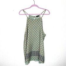 Sky Clothing Brand Plus Size 3x Spaghetti Strap Top Tribal Medallion Print