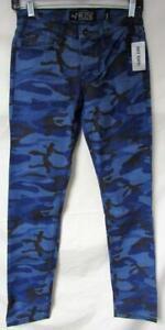 Hot Topic Rude Men 24x32 26x32 28x32 30x32 34x32 36x32 Camo Skinny Jeans J1 43