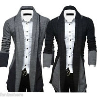 Men Sweater Cardigan Knitted Stylish Slim Fit Korean Jacket Coat Fashion Tops