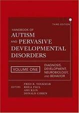 Handbook of Autism and Pervasive Developmental Disorders, Vol. 1: Diagnosis, Dev