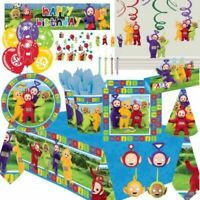 Teletubbies 1st Birthday Party Supplies Tableware Balloon Decoration Plates Bag