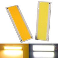 10W 12V-24V COB LED Panel Strip Light High Power Lamp Bead Chip Warm/Cool White