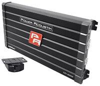 Power Acoustik CB1-8000D 4000 Watt RMS Mono Amplifier Car Audio Class D Amp