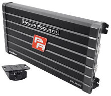 Power Acoustik CB1-8000D 4000 Watt RMS Mono Amplifier Car Audio Class D Amp