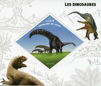 Dinosaurs Stamps 2019 MNH Dinosaur Isisaurus Prehistorical Animals 1v S/S