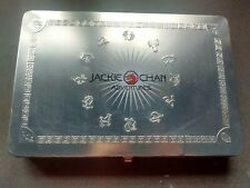 JACKIE CHAN ADVENTURES Collectors Tin, With Magazine, Talismans, Cards!