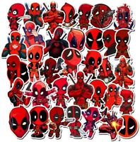 35x Aufkleber Dead Pool Marvel Superhelden Stickerbomb Sticker Laptop Comic