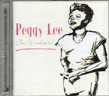 Peggy Lee - The Wonderful Peggy Lee (2002 CD) New & Sealed