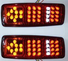 2 LED Feux arrière 12V LAMPES pour caravane camion camping-car BENNE