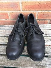 Timberlands Mens Black Nubuck  Leather Shoes Size Uk 11