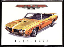 PONTIAC GTO (1964-74)  Collectors Card Series - The original American muscle car