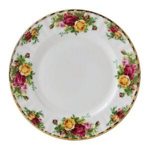 ROYAL ALBERT - OLD COUNTRY ROSES - 20cm FINE BONE CHINA DINNER PLATE