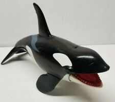 """Chap Mei Killer Whale Orca Chomping Action Figure large Works Orka 11"""" Toy"""