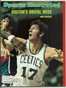 John Havlicek Boston Celtics Sports Illustrated Magazine February 18, 1974