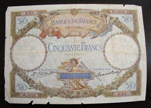 50 Francs MERSON de 1929