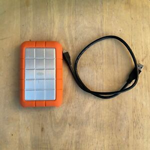 LaCie RUFWU3B Rugged Portable Hard Drive 1TB USB 3.0 & Firewire 800