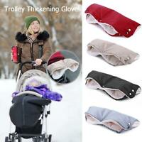 Winter Pram Stroller Mittens Hand Cover Buggy Muff Glove Warm Cart Accessories