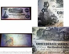 US 1862 $100 TRAIN   FR 1187   - Beautiful Obsolete Currency Note
