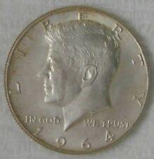 1964 D Kennedy Silver Half Dollar 50 Cents, UNCIRCULATED