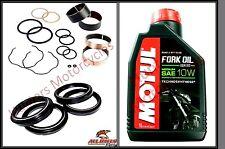 Honda CBR600 F4i (01 to 06) Front Fork Bushes Fork Seals & Dust Seal & Fork Oil