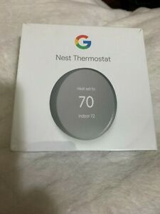 Google Nest Thermostat G4CVZ New $130 Retail in Store Grey Color