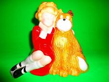 Little Orphan Annie & Sandy Coin Bank 1982 Applause Knickerbocker Toys Numbered