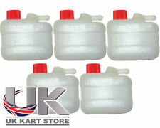 Overflow / Recovery Kart Tank / Bottle with Red Cap x 5 New Best Price