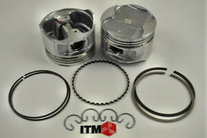 Piston With Rings ITM Engine Components RY6658-030