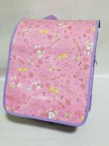 My Melody Randoseru Cover Girl Japanese Kid's School BackPack Children Satchel