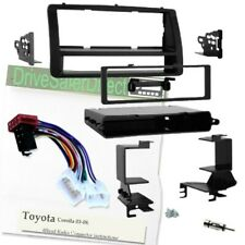 4-Head-7640-d Facia and Adaptor Kit for ISO Radio/Toyota Corolla 03-08