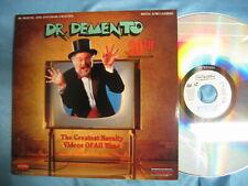 Dr. DEMENTO 20th Anniversary Greatest Novelty Videos Laserdiscs Weird Al Mojo N.