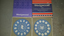 Wedgwood Bicentennial of American Independence Lot of Two plates China Jasper