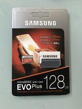 CARTE SD SAMSUNG 128 GO EVO CLASS 10 UHS-I MICRO SDXC + ADAPTATEUR