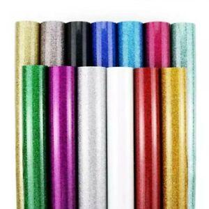 Buy 1 Get 1 Free Glitter HTV IRON ON Glitter Sheets - Heat Transfer Vinyl HTV