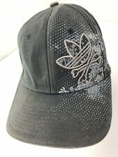 Adidas Black Fitted S/M Adult Baseball Ball Cap Hat