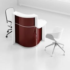 """Wave 34"""" Reception Desk with Counter Top"""
