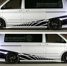 2x Seitenstreifen Seitenaufkleber 3m XL Racing Autoaufkleber Bus Tuning LKW B15